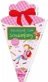 Schlau für die Schule: Rätselspaß zum Schulanfang mit Stickern (Schultüte für Mädchen)