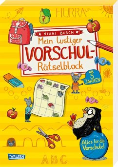 Mein lustiger Vorschul-Rätselblock - Busch, Nikki