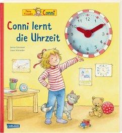 Conni-Bilderbücher: Conni lernt die Uhrzeit - Schneider, Liane