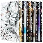 Attack on Titan, Bände 21-25 im Sammelschuber mit Extra