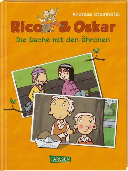 Buch-Reihe Rico & Oskar Comic