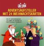 Uli Stein Adventsaufsteller mit 24 Weihnachtskarten