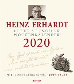 Heinz Erhardt - Literarischer Wochenkalender 2020 - Erhardt, Heinz