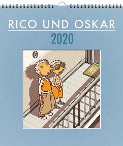 Rico und Oskar 2020 - Wandkalender - Steinhöfel, Andreas