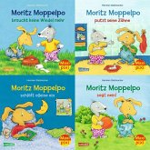 Maxi-Pixi-4er-Set 71: Moritz Moppelpo (4x1 Exemplar)