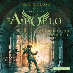 Das brennende Labyrinth / Die Abenteuer des Apollo Bd.3 (5 Audio-CDs) - Riordan, Rick