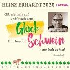 Gib niemals auf, greif nach dem Glück 2020 - Ein Heinz Erhardt-Postkartenkalender
