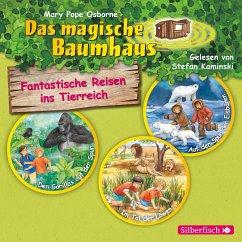 Fantastische Reisen ins Tierreich. Die Hörbuchbox, 3 Audio-CDs - Pope Osborne, Mary