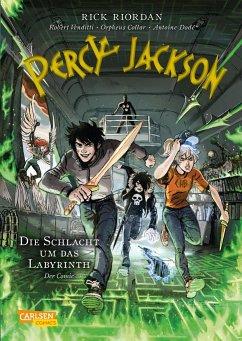 Percy Jackson (Comic) 4: Die Schlacht um das Labyrinth - Riordan, Rick; Venditti, Robert