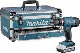 Makita HP457DWEX4 + Zubehörset Schlagbohrschrauber im Koffer