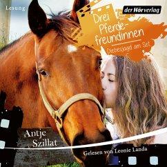 Drei Pferdefreundinnen - Diebesjagd am Set (MP3-Download) - Szillat, Antje