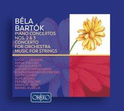 Bartók: Konzerte Für Klavier Und Orchester - Sándor/Fischer/Végh Quartett/Brso/+