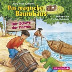 Der Schatz der Piraten / Das magische Baumhaus Bd.4 (1 Audio-CD)