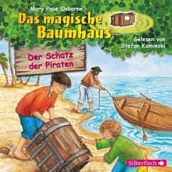 Der Schatz der Piraten / Das magische Baumhaus Bd.4 (1 Audio-CD) - Pope Osborne, Mary