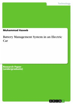Battery Management System in an Electric Car