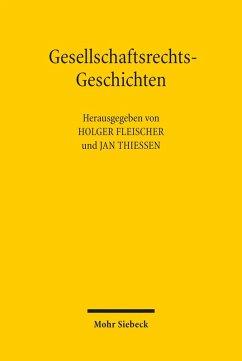Gesellschaftsrechts-Geschichten (eBook, PDF)