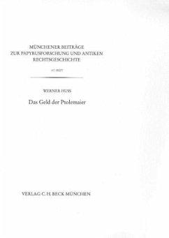 Das Geld der Ptolemaier - Huß, Werner
