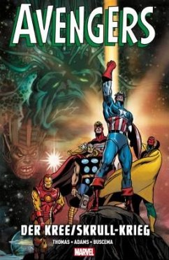 Avengers: Der Kree/Skrull-Krieg - Thomas, Roy; Buscema, Sal; Adams, Neal; Buscema, John