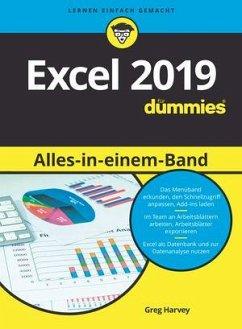 Excel 2019 Alles in einem Band für Dummies - Harvey, Greg