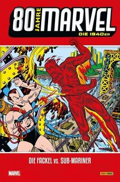 80 Jahre Marvel: Die 1940er - Evrett, Bill; Burgos, Carl; Compton, John H.; Fagaly, Al; Pfeuer, Carl