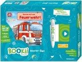 BOOKii Starter-Set - Was ist was Kindergarten - Komm mit zur Feuerwehr!, m. Hörstift