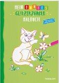 Mein buntes Glitzerzauber-Malbuch (Katze)
