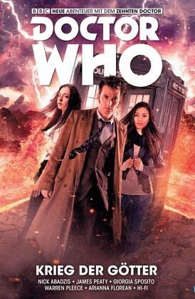 Buch-Reihe Doctor Who - Der zehnte Doktor