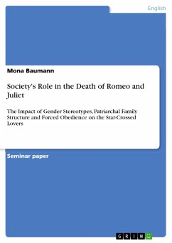 Society's Role in the Death of Romeo and Juliet