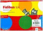Fidibus Paket Rechtschreibung. 4 Arbeitshefte Klasse 5/6