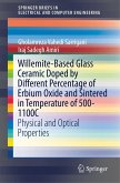 Willemite-Based Glass Ceramic Doped by Different Percentage of Erbium Oxide and Sintered in Temperature of 500-1100C