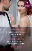 Castiglione's Pregnant Princess: Castiglione's Pregnant Princess (Vows for Billionaires) / Blackmailed into the Marriage Bed (Mills & Boon Modern) (eBook, ePUB)