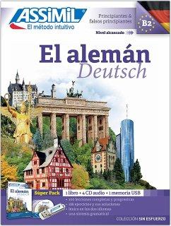 ASSiMiL El Alemán - Colección 'sin esfuerzo' Super Pack. Deutsch Sprachkurs auf Spanisch