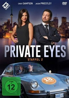 Private Eyes-Staffel 2 DVD-Box - Private Eyes