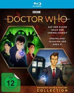 Doctor Who - Animated Double Feature Collection: Dreamland / Auf der Suche nach der Unendlichkeit - Tennant,David/Bowerman,Lisa/Warner,David