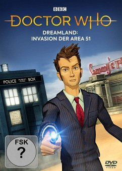Doctor Who - Dreamland: Invasion der Area 51 - Tennant,David/Bowerman,Lisa/Warner,David