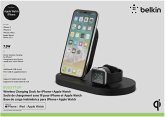 Belkin Wireless Charging Dock Apple Watch/iPhone 7,5W schwarz