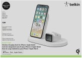 Belkin Wireless Charging Dock Apple Watch/iPhone 7,5W weiß