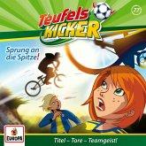 Sprung an die Spitze! / Teufelskicker Hörspiel Bd.77 (1 Audio-CD)