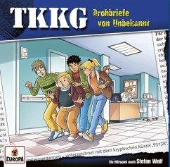 Drohbriefe von Unbekannt / TKKG Bd.209 (1 Audio-CD) - Wolf, Stefan