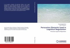 Persuasion Elements Used in Logistical Negotiation