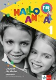 Hallo Anna 1 neu. Deutsch für Kinder. Arbeitsbuch mi Bastelvorlagen
