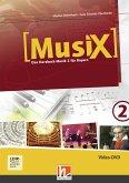MusiX 2. Video-DVD. Ausgabe BG (Bayern Gym Lehrplan Plus), DVD