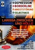 DEPRESSION - BORDERLINE - ANGSTSTÖRUNG - SELBSTHASS Teil 1: Larissa zwischen Himmel und Hölle-Tagebuch der Selbstzerstörung