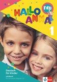 Hallo Anna 1 neu. Deutsch für Kinder. Lehrbuch mit 2 Audio-CDs