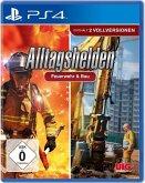 Alltagshelden Feuerwehr & Bau, 1 PS4-Blu-ray-Disc