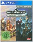 Das Schwarze Auge, Nordlandtrilogie 1 & 2, Schicksalsklinge & Sternenschweif, 1 PS4-Blu-ray-Disc
