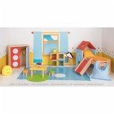 Goki 51540 - Kinderzimmer, Puppenmöbel, Puppenhaus