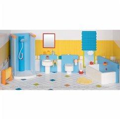 Goki 51541 - Badezimmer, Puppenmöbel, Puppenhaus
