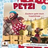 Petzi - Zaubern geht doch hopplahopp, 1 Audio-CD