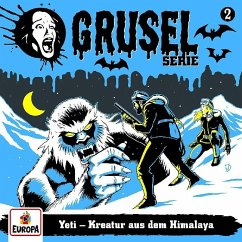 Gruselserie - Yeti - Kreatur aus dem Himalaya, 1 Schallplatte
